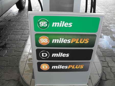 Das Benzin kia sid 2010